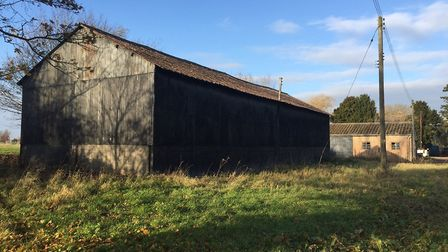 Tinkers Barn, before work began to turn into into a luxury modern home Picture: NEST DEVELOPMENT