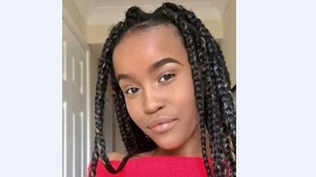 Missing teenager Ayonda Gasela. Picture: SUFFOLK POLICE