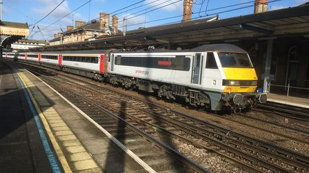 InterCity trains could be travelling faster from East Anglia to London from May - even before the ne