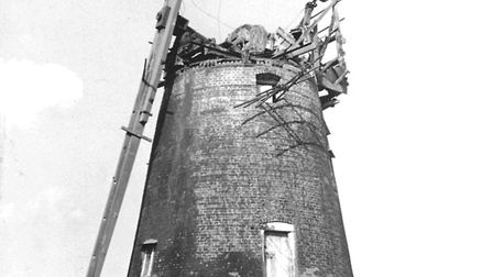 The derelict mill in 1979 Picture: THELNETHAM WINDMILL