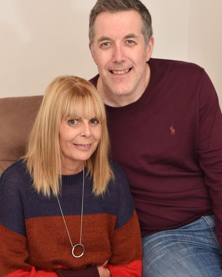 Lynn Charles has just had her second kidney transplant after her brother donated his . Pictured with