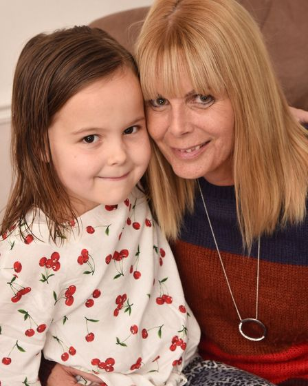 Lynn Charles has just had her second kidney transplant after her brother donated his. Pictured with