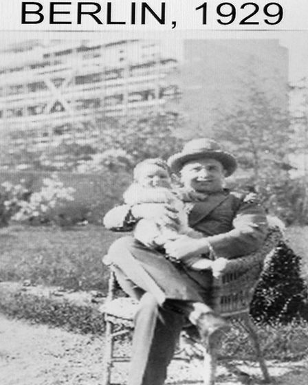 Frank Bright as a child in Berlin, 1929 Picture: ARCHANT/SUPPLIED BY FRANK BRIGHT