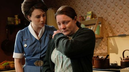 A scene from Call the Midwife Picture: OLLIE UPTON