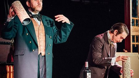 Morgan and West: Utterly Spiffing Magic Show for Kids is at The New Wolsey Theatre for half term Pho