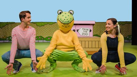 Dear Zoo the timeless children�s classic book is on stage at the New Wolsey this half term Photo:Vic