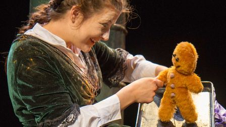 Stuff and Nonsense Theatre Company�s new production of The Gingerbread Man is at Bury Theatre Royal