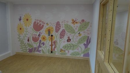 New Mother and Baby Unit at Hellesdon Hospital. One of the en suite bedrooms. Picture: MIXBROW CONS