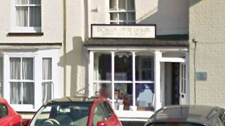 Douglas Payne Designs in Long Melford, which was burgled Picture: GOOGLE MAPS