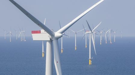 Final consultation on two new windfarms off the Suffolk coast is about to get under way Picture: SCO