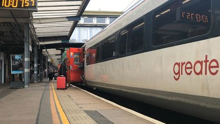 Greater Anglia passengers are being urged to check before they travel due to forecast snow Picture: