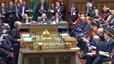 Would it hurt MPs to be polite to one another, irrespective of Brexit views? Picture: PA Wire.