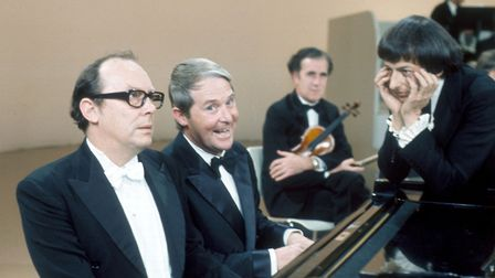 The Morecambe and Wise Christmas show was must see viewing for decades Photo: BBC