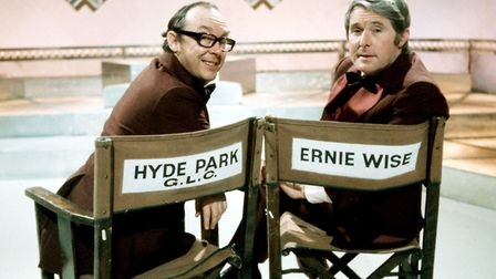 Morecambe & Wise in their hey day Photo: BBC