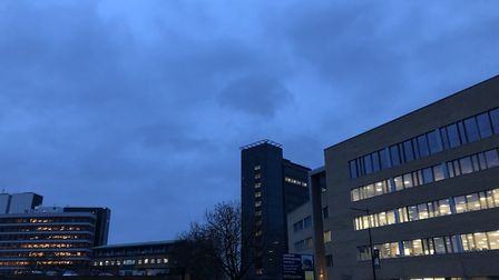 Wet weather in Ipswich today (February 4) - and forecasts of more rain in Suffolk and north Essex th