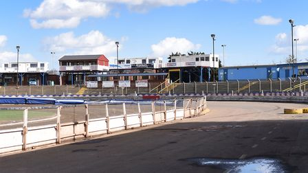 Foxhall Stadium, where the Witches will soon be back racing Photo: SARAH LUCY BROWN