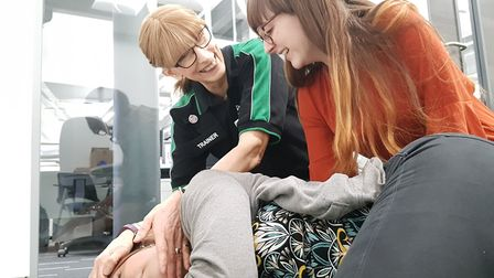 St Johns Ambulance CPR Training at Prospect House Picture: Archant