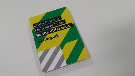 A guide book which saves lives Picture: Archant