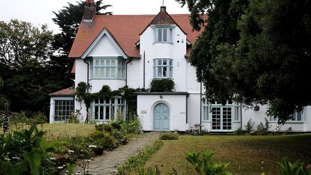 The house in Sheringham where composer Ralph Vaughan Williams Lived. Picture: MARK BULLIMORE