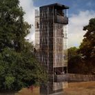 A computer-generated image of the viewing tower being built at Sutton Hoo Picture: NISSEN RICHARDS