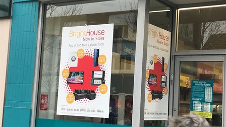 BrightHouse store inside Poundland, on Pier Avenue in Clacton. Picture: Jessica Hill