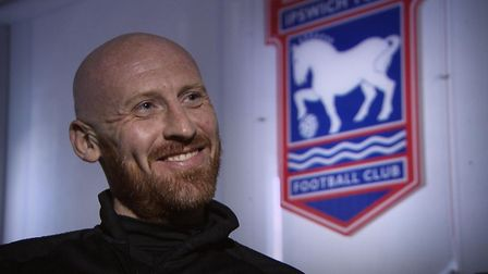 James Collins joined Ipswich Town as a free agent in September. Picture: S4C