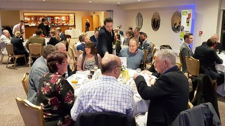 Family Business United and Birketts dinner at Stoke By Nayland Hotel
