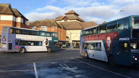 Greater use of buses will mean less cars on the road say green groups