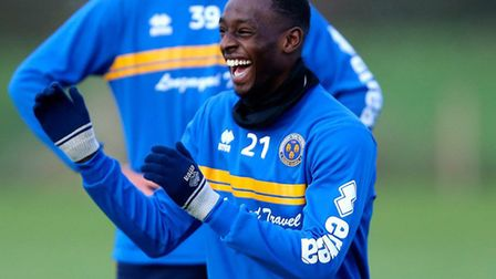 Abo Eisa, who is in line to make his U's home debut tomorrow. Picture: JAMES BAYLIS/AMA
