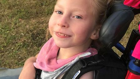 Teigan Bayliss, aged seven, her smile has inspired a festival called TeigyFest which will take place