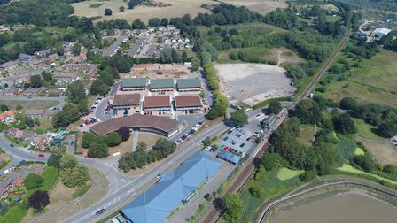 The Suffolk Coastal District Council offices at Melton can be seen in this photo Picture: DAVID MOR