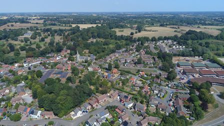 This recent photo shows some of the changes in Melton Picture: DAVID MORTIMER