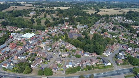 Photographer David Mortimer took this photo over Melton Picture: DAVID MORTIMER