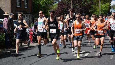 Places for the 38th Woodbridge 10k are expected to go fast Picture: BEN POOLEY