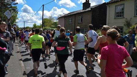 The race has raised thousands of pounds for good causes Picture: BEN POOLEY