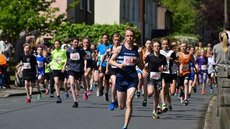 Hundreds are expected to take part when the race returns to Woodbrodge in May Picture: BEN POOLEY