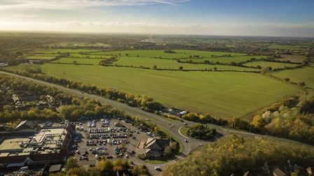 Land earmarked for Horizon 120 in Great Notley. Picture: Braintreet District Council