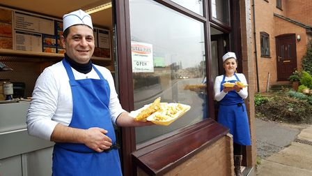 If they are good enough for Ed Sheeran - Framlingham Fish Bar has been praised by the Suffolk singer