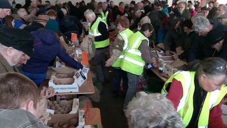 A look at last year's East Anglia Potato Day Picture: STONHAM BARNS