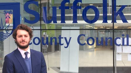 Labour councillor Jack Abbott warned a no-deal Brexit would be 'catastrophic' for Suffolk's councils