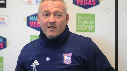 Paul Lambert will speak to the media this afternoon ahead of the weekend trip to Norwich. Picture: R