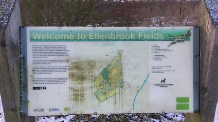 Ellenbrook Fields, the home of the weekly Ellenbrook Fields parkrun. Picture: CARL MARSTON