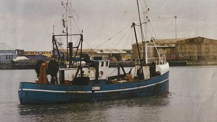 The vessel Leanda in 1989 Picture: LONG FAMILY