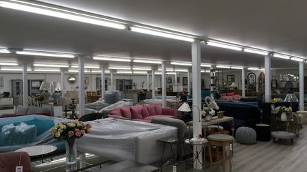 The stock is all under one roof at the new Direct Furniture store in Bury St Edmunds Picture: MARIAM