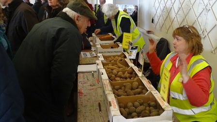 East Anglia Potato Day 2019 at Stonham Barns Picture: PHOENIX PHOTOGRAPHY
