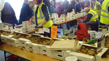 More than 800 people came along to the East Anglia Potato Day at Stonham Barns Picture: PHOENIX PHOT