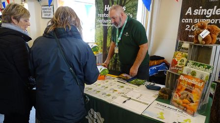 Hundreds turned out for more than 80 varieties of potato at Stonham Barns on Saturday, February 9 Pi