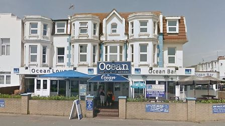 The incident happened at Bentley's of Clacton, formally known as The Ocean Hotel Picture: GOOGLE MAP