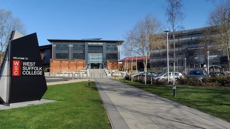 West Suffolk College in Bury St Edmunds will offer a new banking degree from September Picture: ARCH
