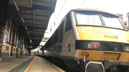Greater Anglia trains are being held at Colchester, Marks Tey, Kelvedon, Hatfield Peverel and Chelms